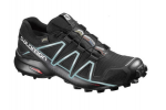 Кроссовки Salomon SPEEDCROSS 4 GTX W Bk/Bk/Metal